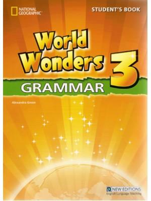 World Wonders - 3 Grammar