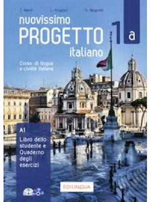 Nuovissimo Progetto Italiano - 1a Libro+Quaderno
