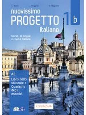 Nuovissimo Progetto Italiano - 1b Libro+Quaderno