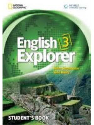 English Explorer - 3 SB+CD