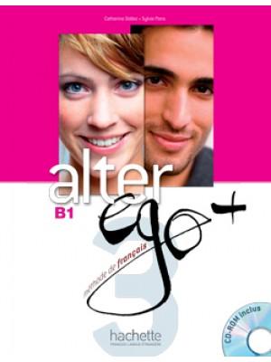 Alter Ego Plus - 3 Livre de l'élève + CD-Rom