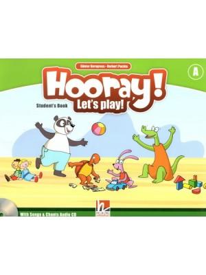 Hooray! Let's Play! - SB Level A+CD