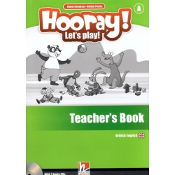 Hooray! Let's Play! - TB Level A+2 CDs+DVD-Rom