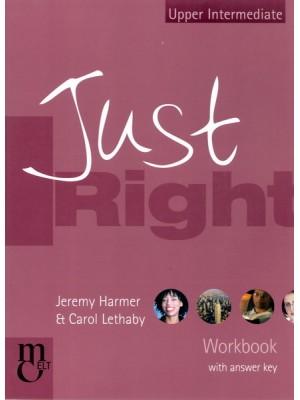 Just Right - Upper Intermediate WB