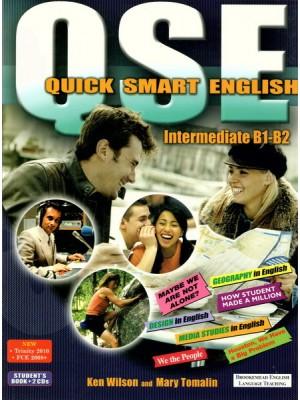Quick Smart English - SB+CDs B1-B2