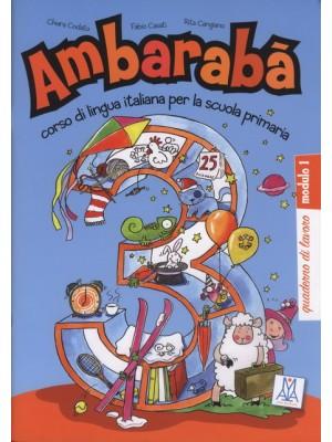 Ambaraba - 3 Quaderno