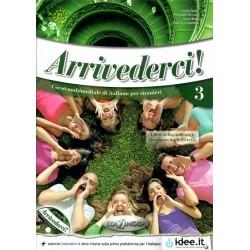 Arrivederci! - 3 Libro+Quaderno+CD