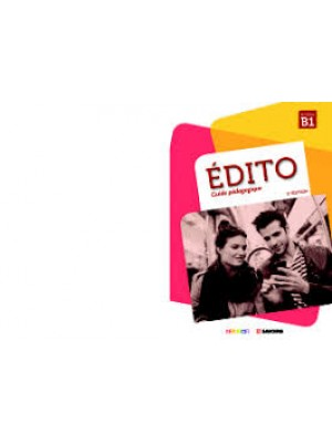 Edito B1 cahier