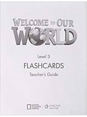 Welcome to Our World Flashcards level 3