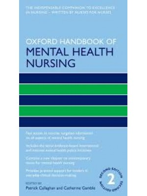Oxford Handbook of Mental Health Nursing 2/e