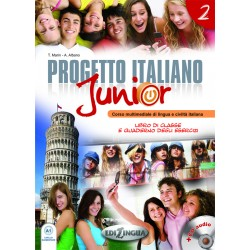 Progetto Italiano Junior - 2 Libro+Quaderno+CD
