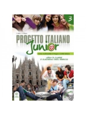 Progetto Italiano Junior - 3 Libro+Quaderno+CD