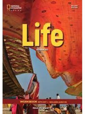 Life - 2 edition - Advanced - WB + cd