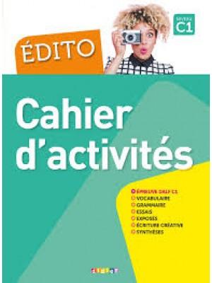 Edito C1 cahier