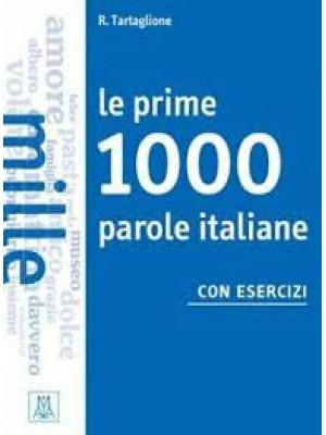 Le prime 1000 parole italiane con esercizi