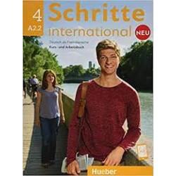 Schritte International NEU 4 + KOD za digitalni udžbenik